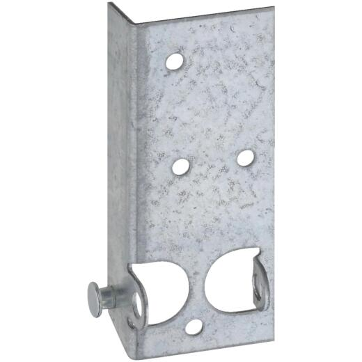National Galvanized Steel Right & Left Hand Bottom Lift & Roller Bracket For Wood & Metal Garage Door