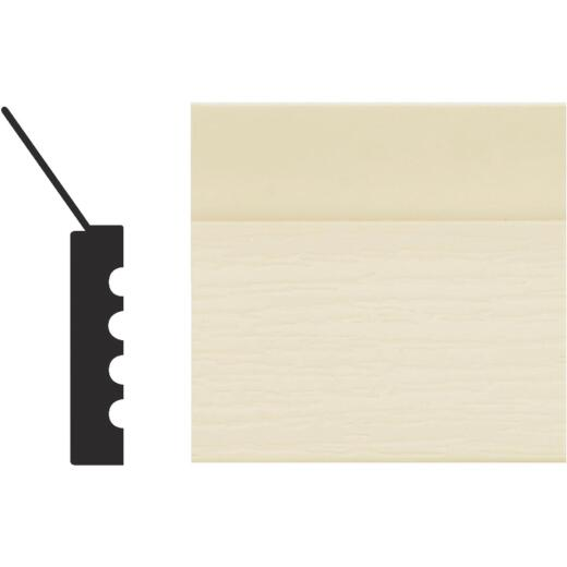 Royal Thermo Stop 2 In. W. x 7/16 In. H. x 16 Ft. L. Almond PVC Weatherstrip Garage Door Stop