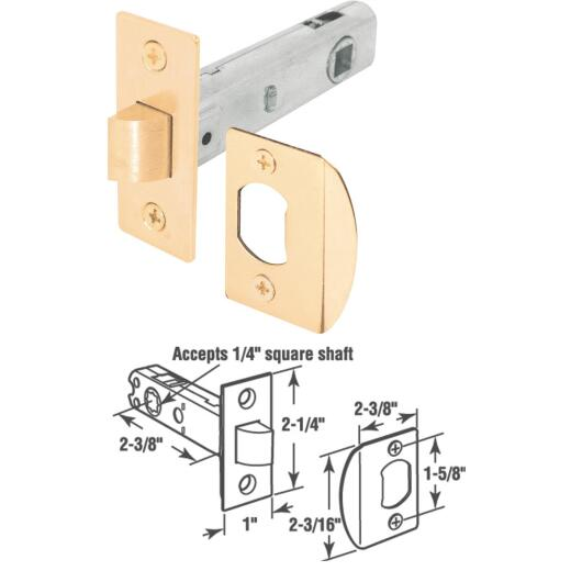 Defender Security Privacy/Passage Tubular Latch