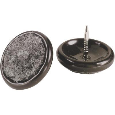Do it 1 In. Round Nail on Furniture Glide,(4-Pack)
