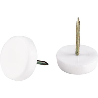 Do it 7/8 In. Plastic Round Nail on Furniture Glide,(4-Pack)