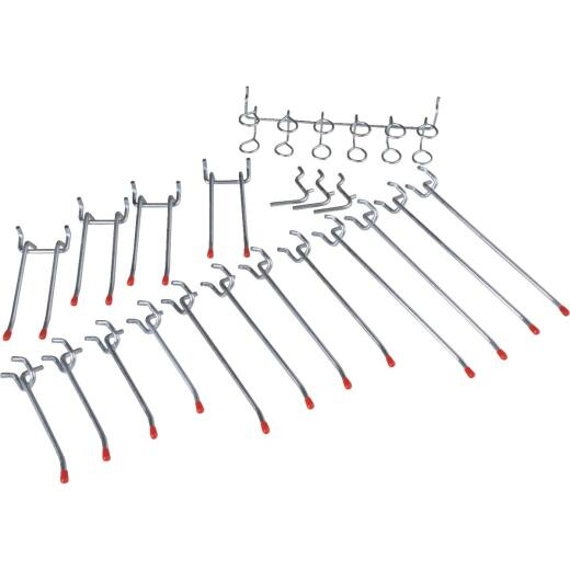 Medium Duty Pegboard Hook Set (20-Piece)