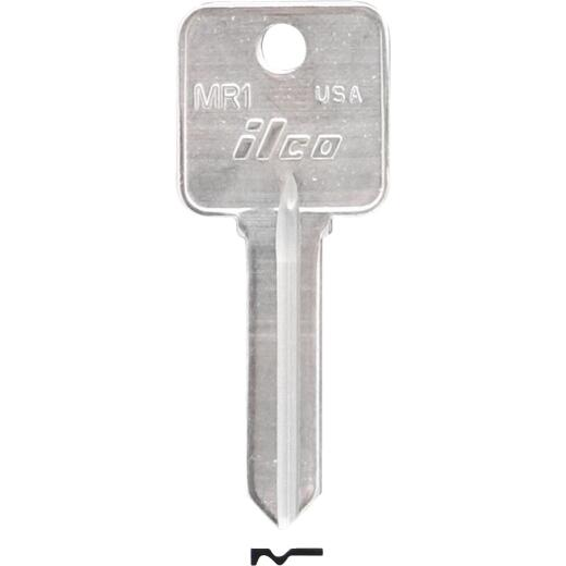 ILCO Rosseau Nickel Plated File Cabinet Key, MR1 (10-Pack)