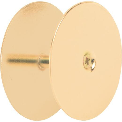 Defender Security Brass Hole Cover