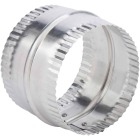 Lambro 4 In. Aluminum Flexible Duct Connector Image 1