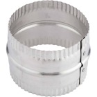Lambro 4 In. Aluminum Flexible Duct Connector Image 2