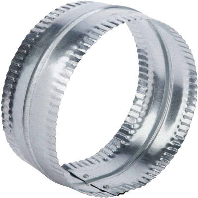 Lambro 7 In. Galvanized Steel Flexible Duct Connector