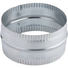 Lambro 8 In. Galvanized Steel Flexible Duct Connector Image 2