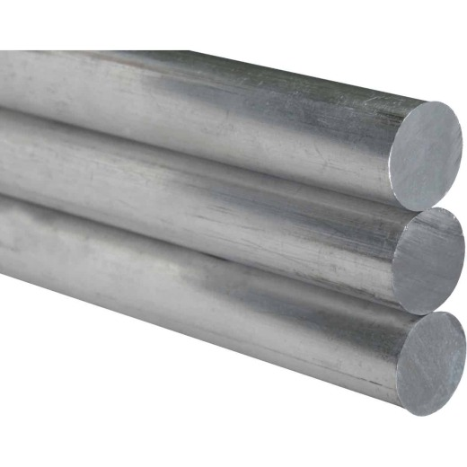 K&S 1/2 In. x 12 In. Solid Stainless Steel Rod