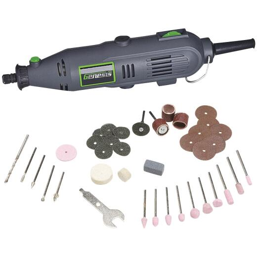 Genesis 120 Volt 1.0 Amp Variable Speed Electric Rotary Tool Kit