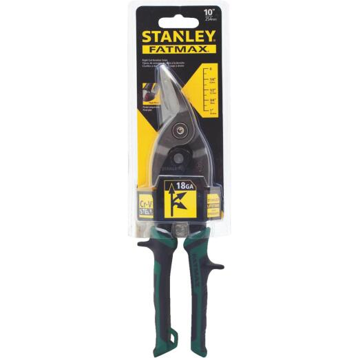 Stanley FatMax 10 In. Aviation Right Snips