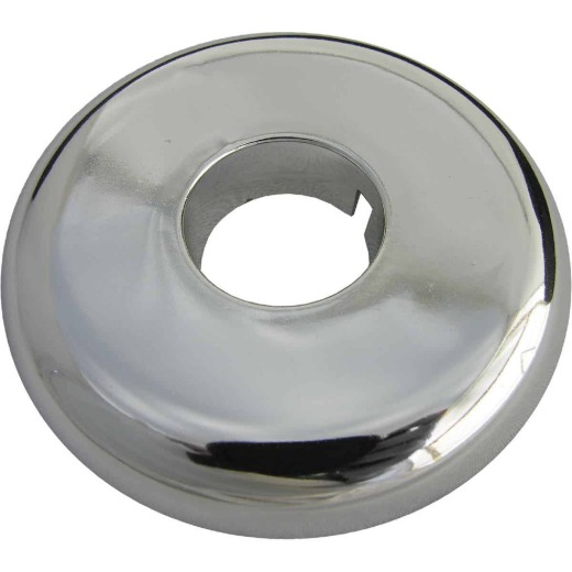 Lasco Chrome-Plated 3/8 In. IP or 1/2 In. Copper 7/8 In. ID Split Plate