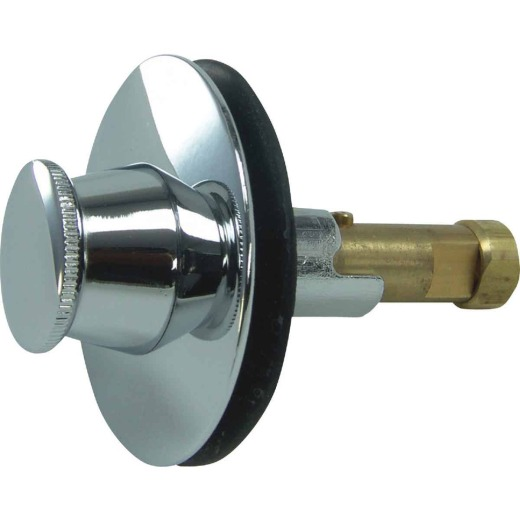 Danco Lift & Turn 3/8 In. & 5/16 In. Thread Tub Drain Stopper Cartridge in Chrome