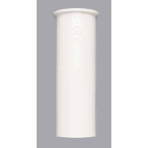 Do it 1-1/2 In. x 6 In. White Plastic Tailpiece