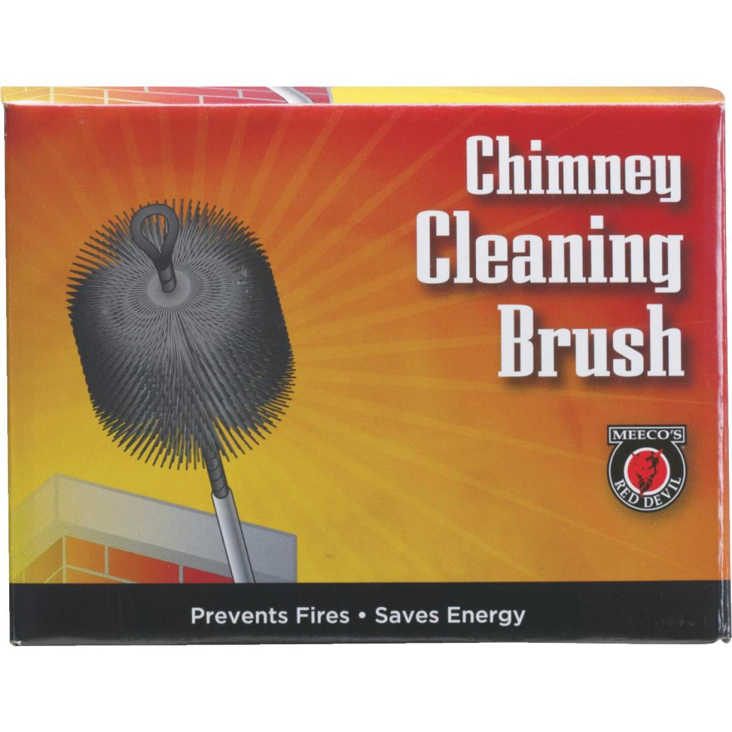 Meeco's Red Devil 8 In. Square Wire Chimney Brush Image 2