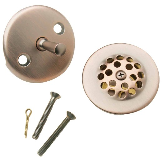 Do it Venetian Bronze Trip Lever Bath Drain Trim Kit