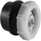 Charlotte Pipe 1-1/2 In. x 1-1/2 In. SPG x Tubular Black ABS Waste Adapter Image 1