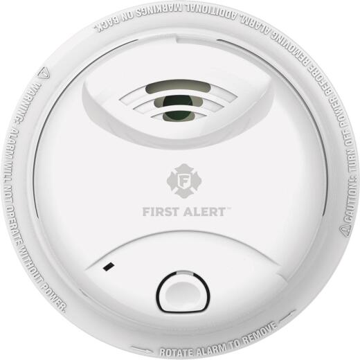 First Alert 10-Year Sealed Battery Ionization Smoke Alarm