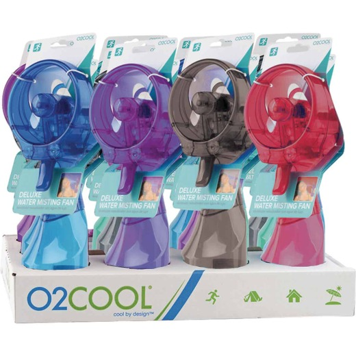02Cool Deluxe Misting Handheld Fan