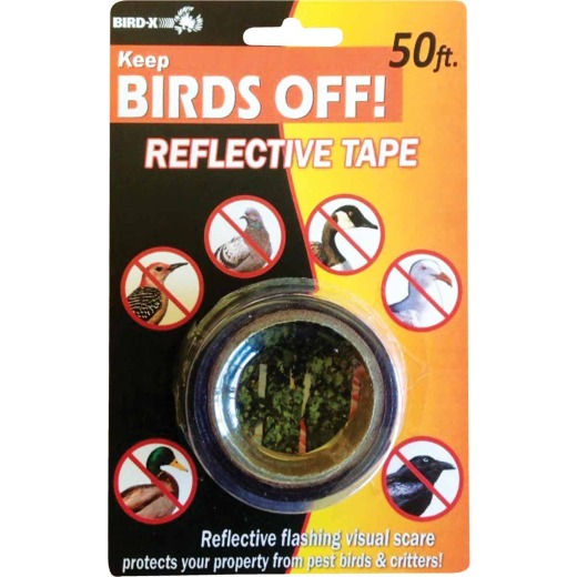 Bird X 1 In. W. x 50 Ft. L. Bird Deterrent Tape