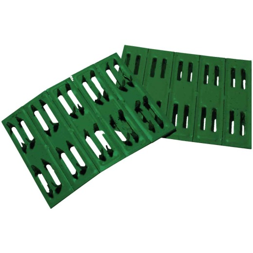Coolaroo Green Plastic Sun Screen Wood Fasteners (50-Pack)