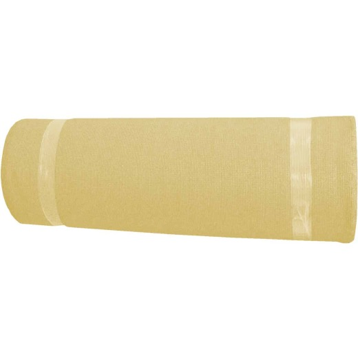 Coolaroo 6 Ft. W. x 100 Ft. L. Wheat 90% UV Sun Screen Fabric