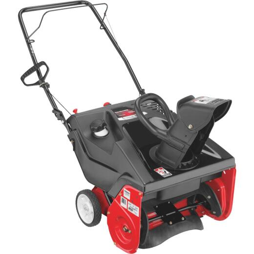 Troy-Bilt Squall 123R 21 In. 123cc Single-Stage Gas Snow Blower