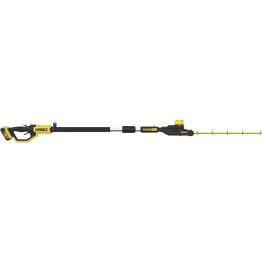 DeWalt 20V MAX 22 In. Cordless Pole Hedge Trimmer Kit