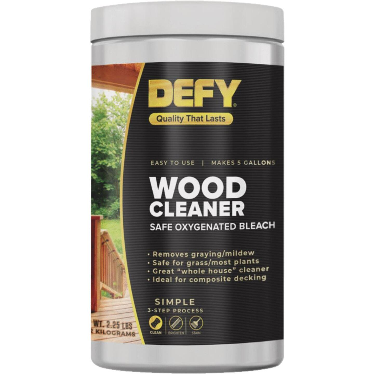 DEFY 2.25 Lb. Wood Cleaner Image 1