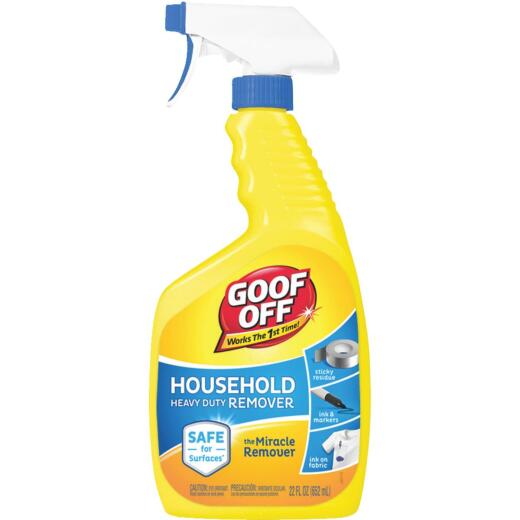 Goof Off 22 Oz. Trigger Spray Household Heavy-Duty Dried Paint Remover