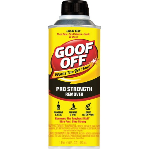 Goof Off 16 Oz. Bottle Pro Strength Dried Paint Remover