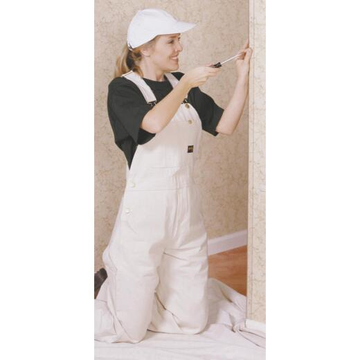 Wallprotex 1-1/8 In. x 4 Ft. Clear Nail On Corner Guard